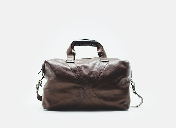 Travel Bag Brown Wood