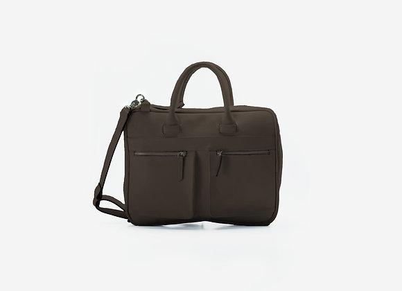 Briefcase Brown Wood