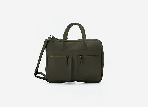 Briefcase Olive Green