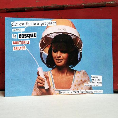 Carte postale - Multigrill Griltou