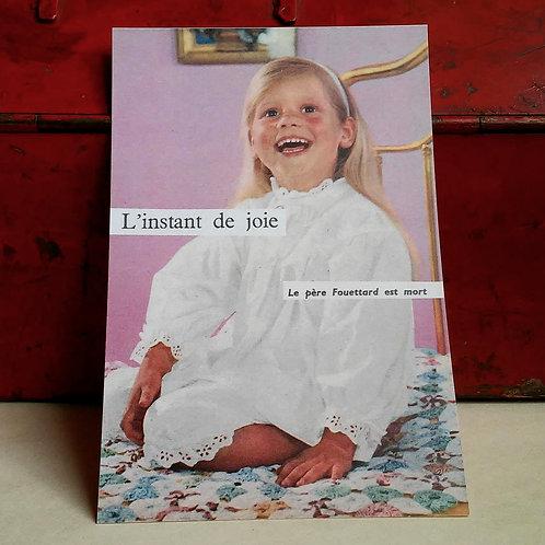 Carte postale - L'instant de joie