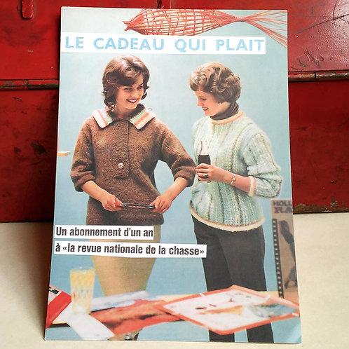 Carte postale - Le cadeau qui plait