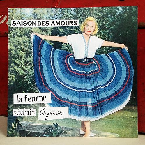 Carte postale - Saison des amours