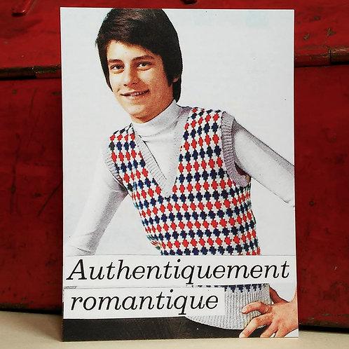 Carte postale - Authentiquement Romantique
