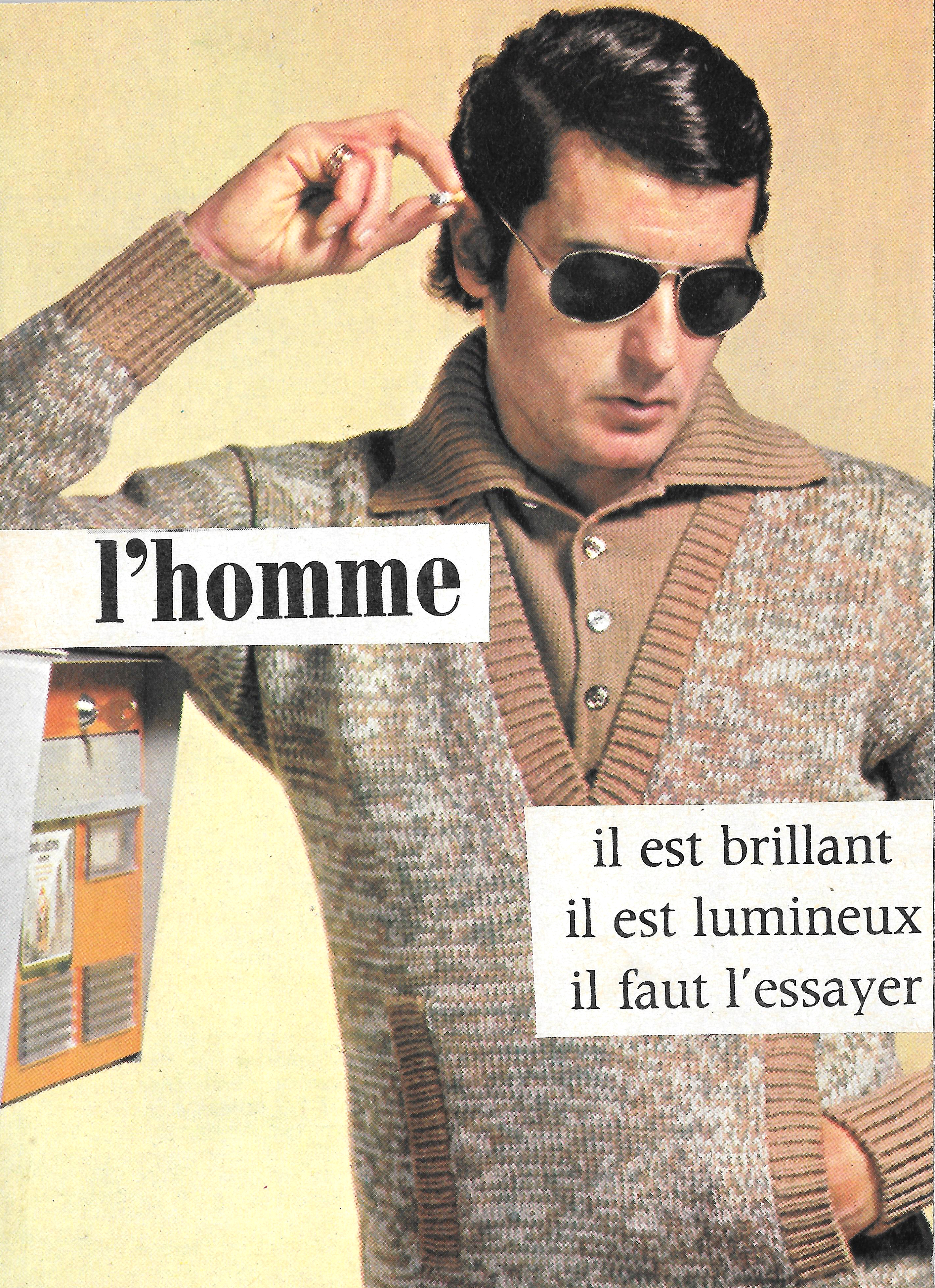 homme lumineux