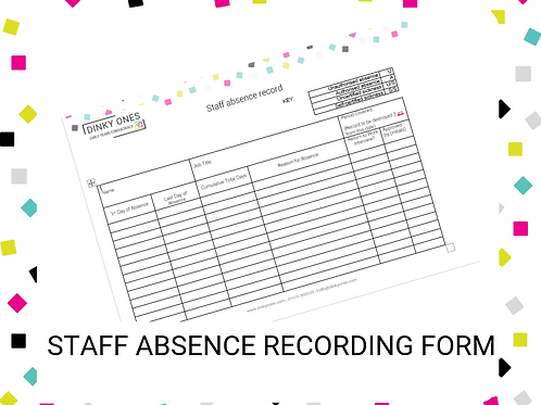 Staff Absence Tracker