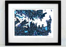 Sydney Art Map - A3 & A4
