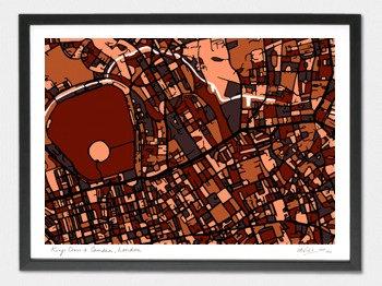 King's Cross & Camden Map - A1
