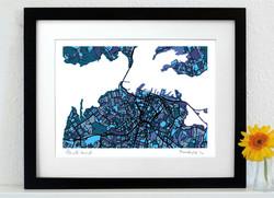 Auckland Art Map - A3 & A4