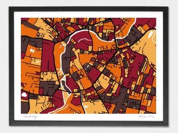 Cambridge Map - A2