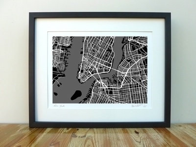 New York Map - A3