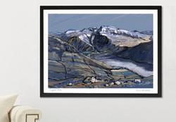 Scafell Pike Art Print - A1/A2