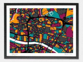 Glasgow Map - A2