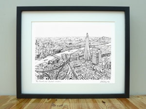 The Shard & Central London - A3