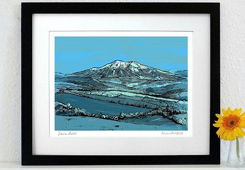 Snowdon - A4
