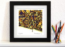 Brighton Art Map - Square