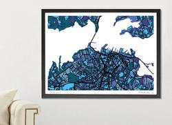 Auckland Art Map - A1 & A2