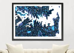 Sydney Art Map - A1 & A2