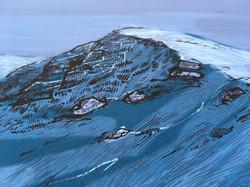 Ben Nevis Art Print - Detail