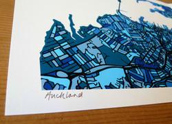 Auckland Art Map - Close Up