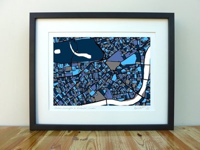 Chelsea & Kensington Map - A3
