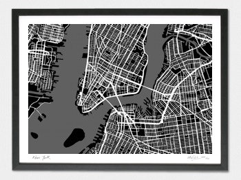 New York Map - A2