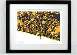 Brighton Art Map - A3 & A4