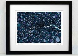 London Art Map - A3 & A4