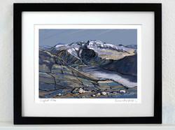 Scafell Pike Art Print - A3_A4