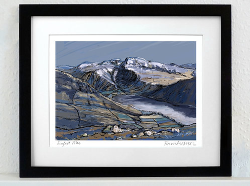 Scafell Pike - A3