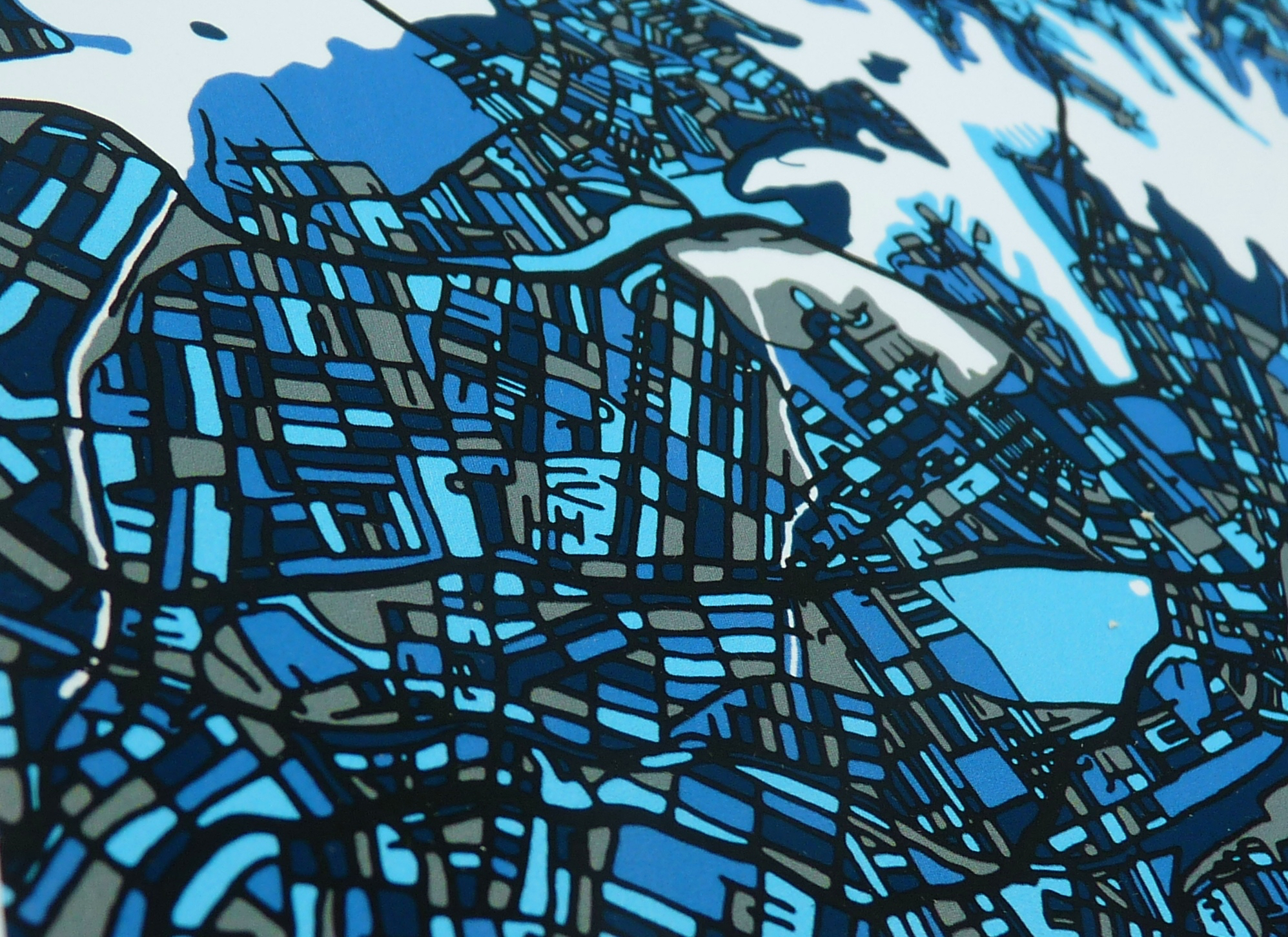 Sydney Art Map - Close Up 1