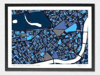 Chelsea & Kensington Map - A2