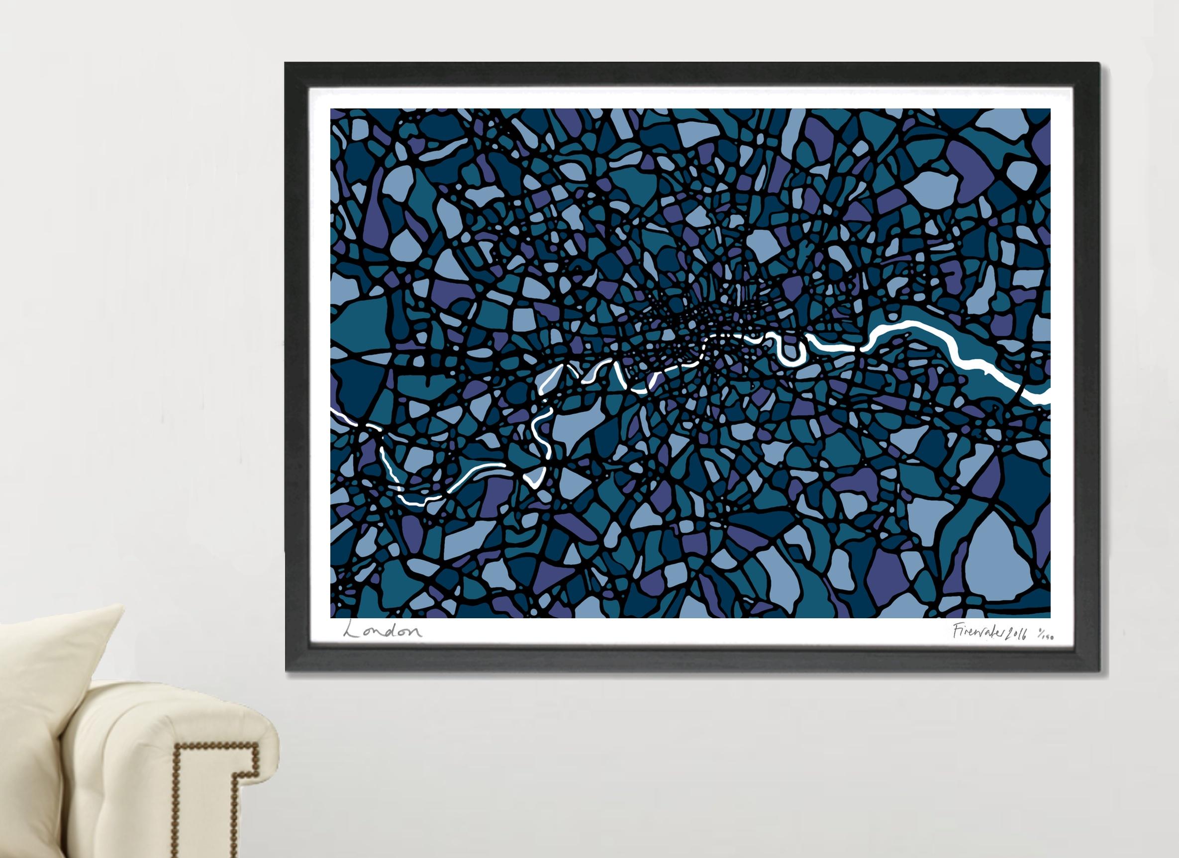 London Art Map - A1 & A2