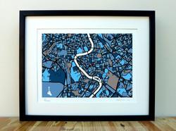 Rome - City Art Map - A3 & A4