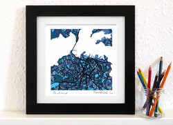 Auckland Art Map - Square