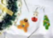 Needle Felting Workshop Christmas and CNY Edition | Fun Starters | Singapore | Needle Felting Workshop | Earrings Workshop | Trial Class