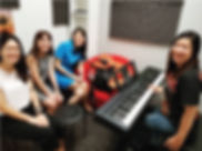 Sing and Play Keyboard Class | Ritmo Studio | Singapore | Singing Class | Keyboard Class | Sing & Keyboard Class | Music Class | Trial Class