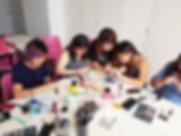 DIY Gel Manicure | Nail Art Class | Manicure Workshop | Nail Art | PinkRoom International Nail Academy | Singapore
