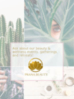 Ask about our beauty & wellness events,
