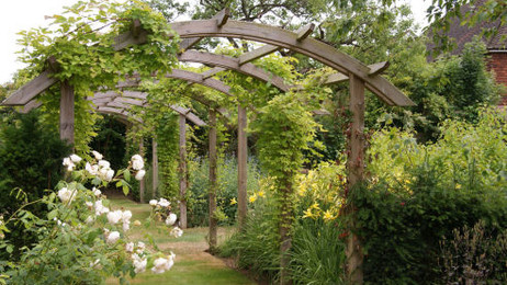 A garden of rooms : :