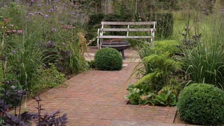 A long garden : :