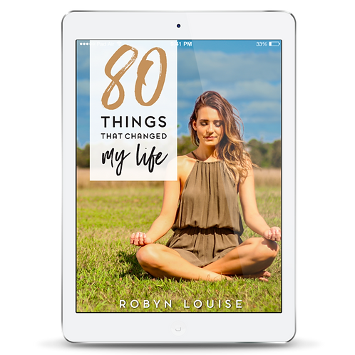 80 Things That Changed My Life