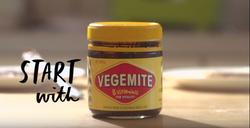 Start with vegemite