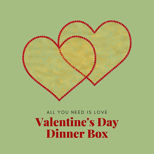 Valentine's Love Feast Box for 2