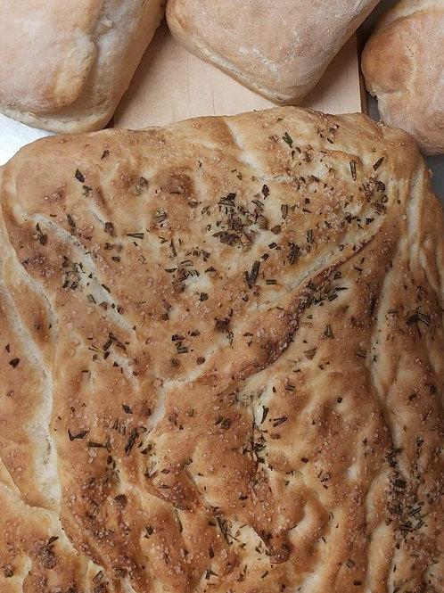 """Focaccia 8""""x 8"""" Loaf"""