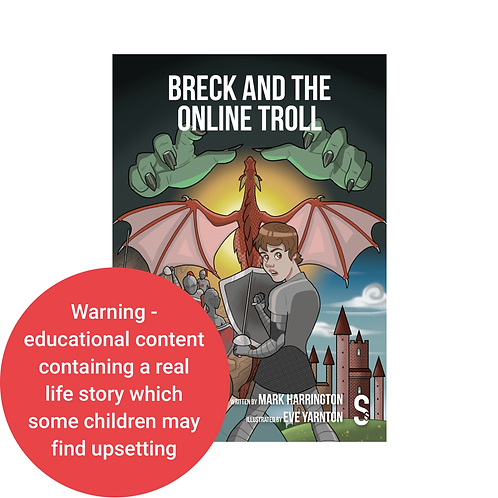 Breck and the Online Troll - Book