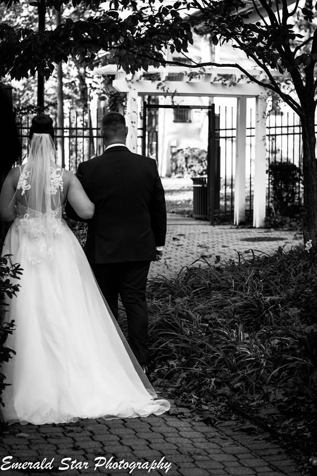 couple leaving