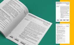Maquetación de guía con espacio para notas.  Cliente: Iglesia Las Buenas Nuevas (Imagen: Vista previa/Fotomontaje)