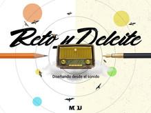 Reto y deleite: diseñando desde el sonido