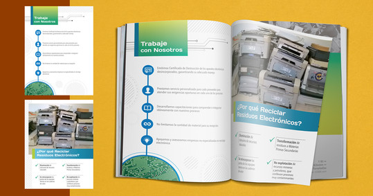 Maquetación de Brochure/Catalogo Empresarial.  Cliente: BG Metal Trade (Imagen: Vista previa/Fotomontaje)